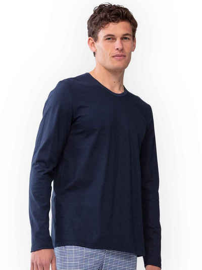 Mey Pyjamaoberteil »Langarm-Shirt« (1-tlg)