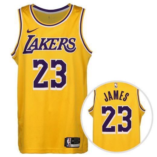 Nike Basketballtrikot »Nba Los Angeles Lakers Lebron James Swingman Icon 2020«