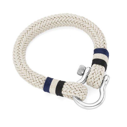 Jacques Charrel Armband »maritimer Look, trendige Seiloptik«