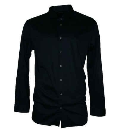 Van Laack Langarmhemd »van Laack Hemd klassisches Herren Slim Fit Hemd aus Baumwolle Langarm-Hemd Dunkelblau«