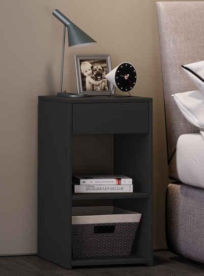 VCM Nachttisch »Holz Nachttisch Sledo Maxi mit Schublade«