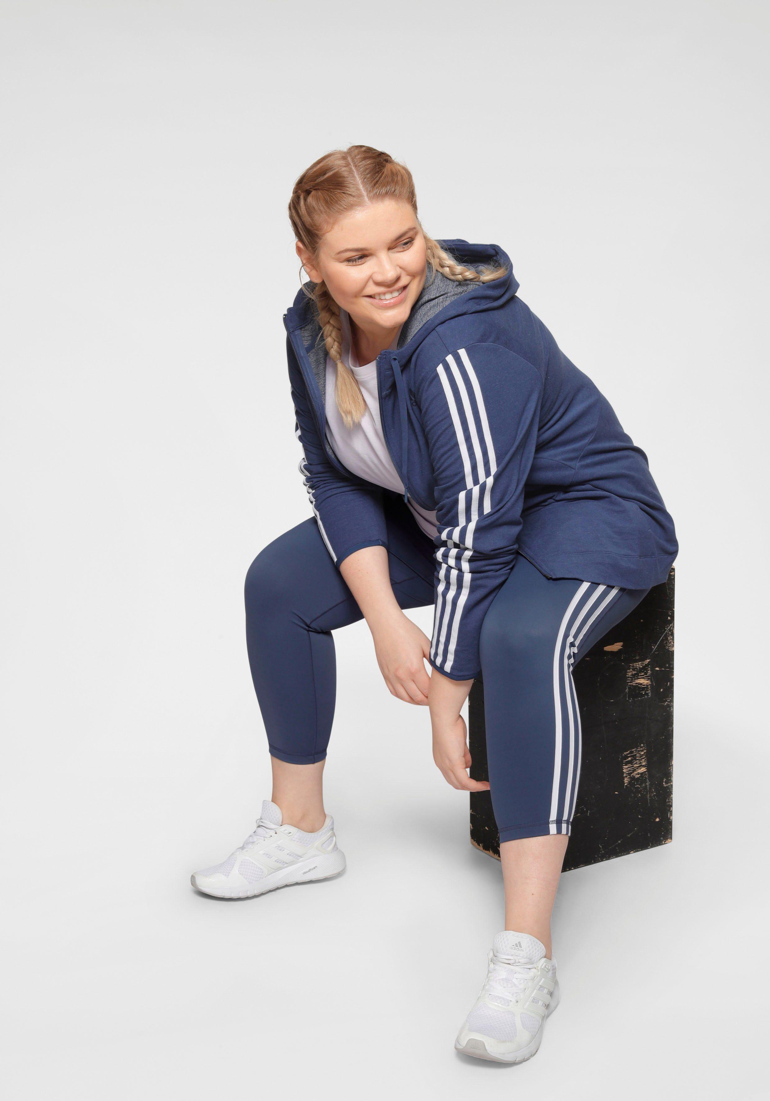 adidas Performance Kapuzensweatjacke 3 STRIPES KNIT FULLZIP HOOD online kaufen 4rWqA4