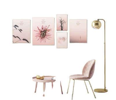 Visario Bilder-Collage »5 er Bilder Set fertig gerahmt sofort aufhängbar Marke Visario«, 4511