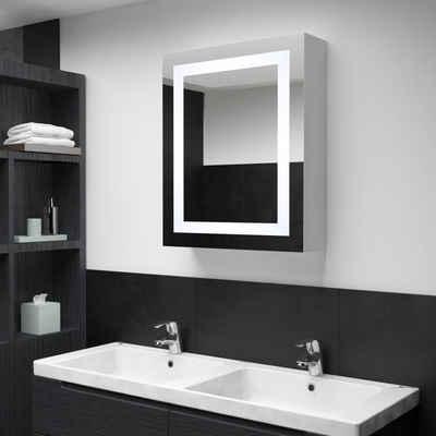 vidaXL Badezimmerspiegelschrank