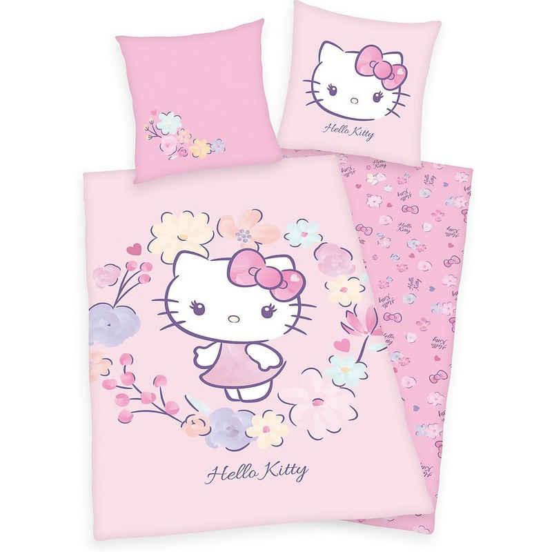 Bettwäsche »Hello Kitty Flanell-Bettwäsche«, Hello Kitty