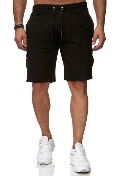 Reslad Sweatshorts »Reslad Kurze Hose Herren Cargo Bermuda Shorts« (1-tlg) Sweatshorts Jogginghose mit Cargo-Taschen