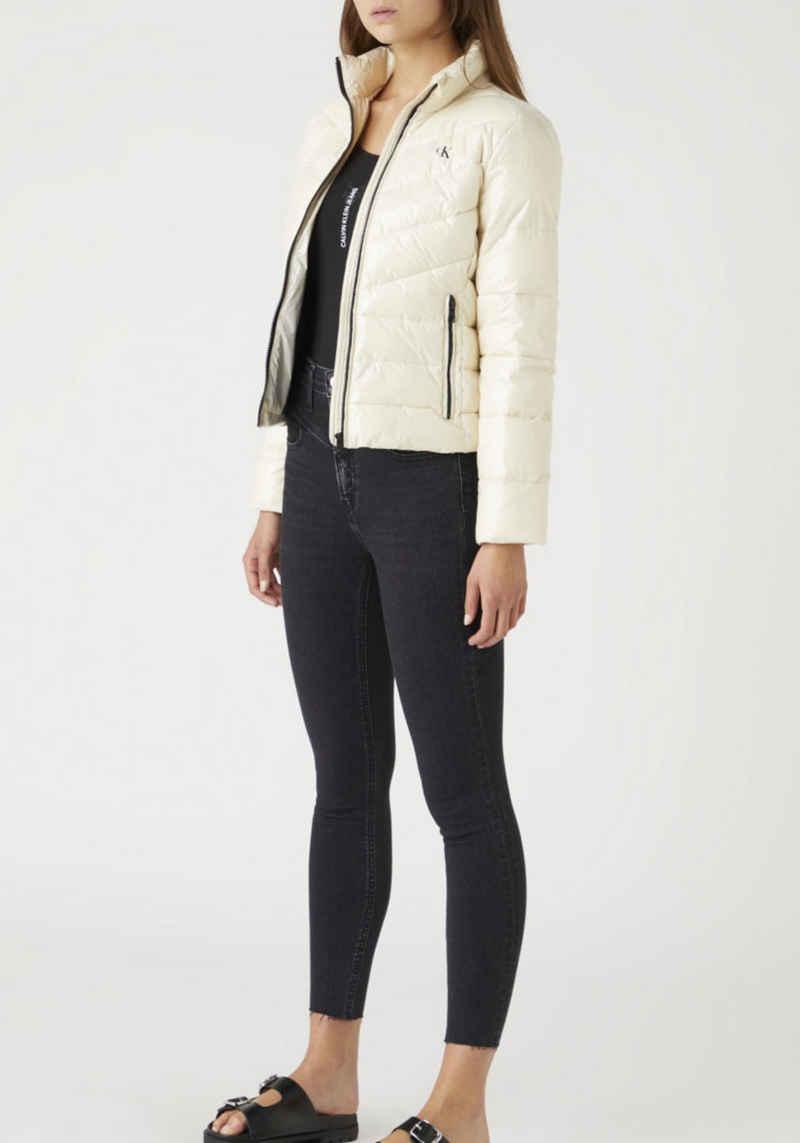 Calvin Klein Jeans Steppjacke »Glossy LW Padded Puffer Jacket« mit Calvin Klein Jeans Elastiktape im Rücken