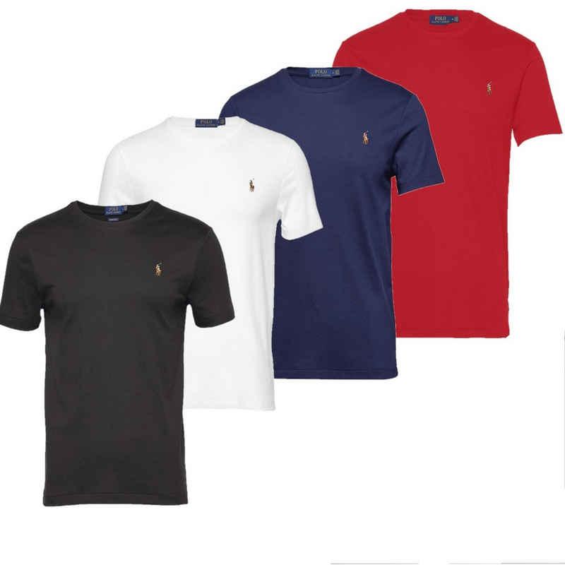 Ralph Lauren Kurzarmshirt »Oxford Rundhals T-Shirt«
