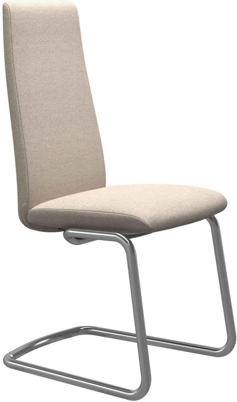 Stressless® Polsterstuhl »Laurel«, High Back, Größe M, mit Beinen aus Stahl in Chrom glänzend
