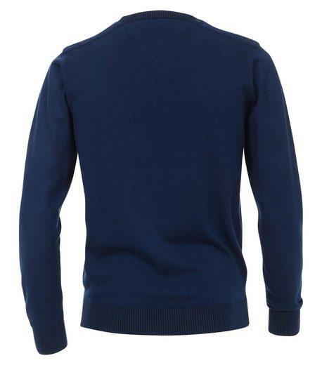 CASAMODA V-Ausschnitt-Pullover »Casa Moda - Herren Pullover mit Rundhalsauschnitt in verschiedenen Farben (472828800 A)«