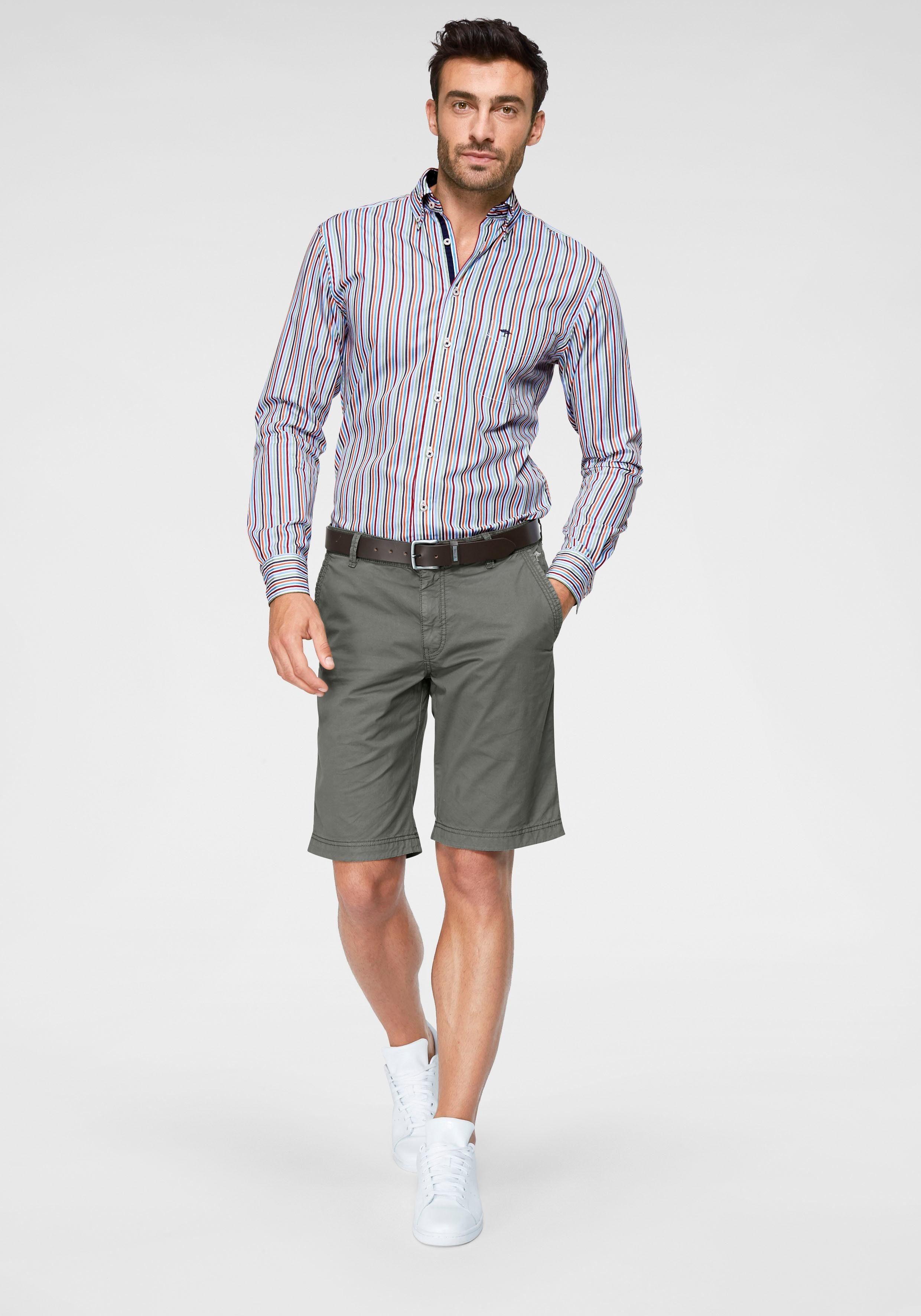 FYNCH-HATTON Langarmhemd mit Streifen, Modisches Streifen-Design online kaufen GRolnX