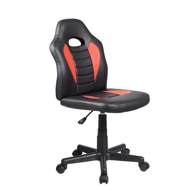 Bürostühle - HTI Line Drehstuhl Daytona »Smart Schwarz Rot« » schwarz  - Onlineshop OTTO