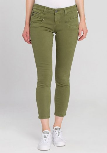 Freeman T. Porter Slim-fit-Jeans »Alexa CR« mit zusätzlichen Deko-Zipper-Taschen