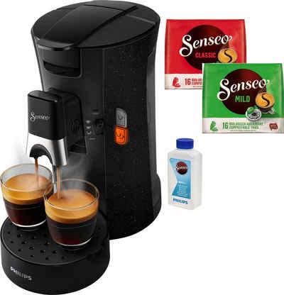 Senseo Kaffeepadmaschine Select ECO CSA240/20, inkl. Gratis-Zugaben im Wert von € 14,- UVP