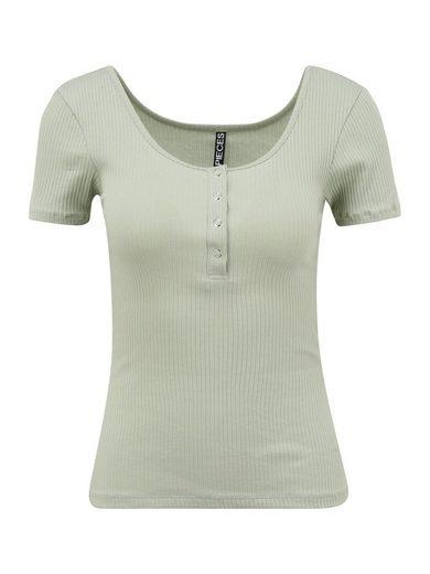 Pieces (Petite) T-Shirt »KITTE« (1-tlg)