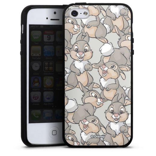 DeinDesign Handyhülle »Thumper Pattern« Apple iPhone 5, Hülle Bambi Disney Hase