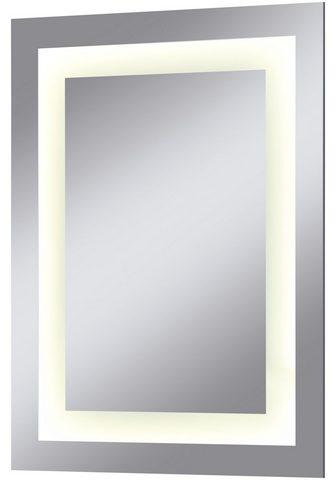 welltime LED-Lichtspiegel »Miami« Breite 45 cm