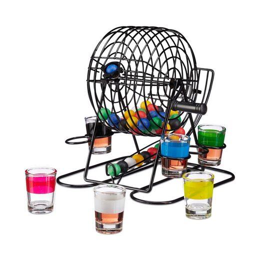 relaxdays Spiel, »Trinkspiel Bingo«