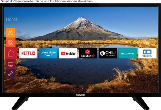 Telefunken D39H500M1CW LED-Fernseher (98 cm/39 Zoll, HD-ready, Smart-TV)