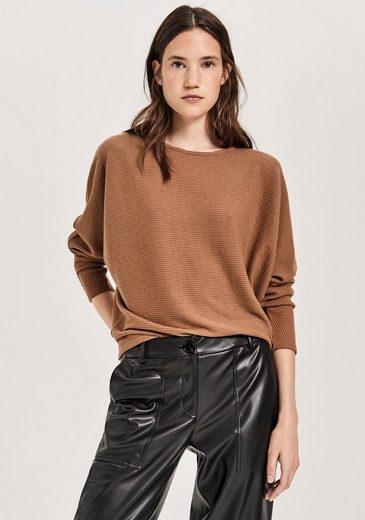 OPUS Sweatshirt »Galsta« im Oversized Look