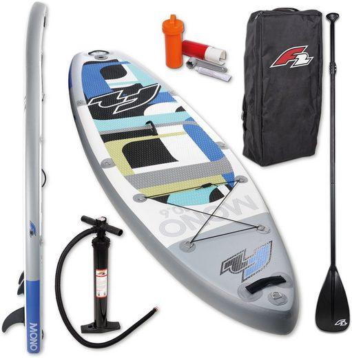 F2 Inflatable SUP-Board »F2 Mono«, (Set, 5 tlg)
