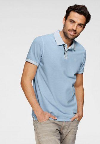 CAMP DAVID Polo marškinėliai su Logostickerei