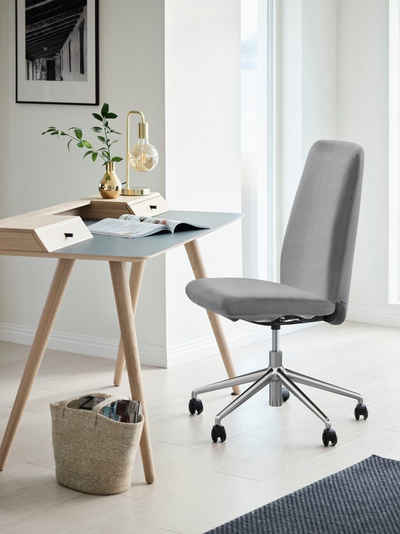 Stressless® Schreibtischstuhl »Laurel«, High Back, Größe L, mit Home Office Gestell in Chrom glänzend