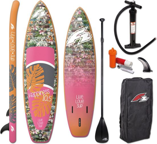 F2 Inflatable SUP-Board »Happiness Woman«