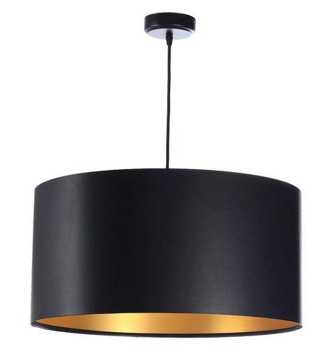 Kiom Pendelleuchte »Hängeleuchte Feliza Latex black & gold Ø 50 cm«
