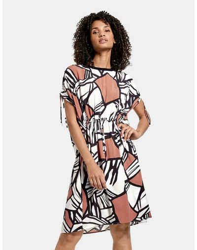 Taifun Minikleid »Kleid mit Raffung« leger mit leichter Taillierung