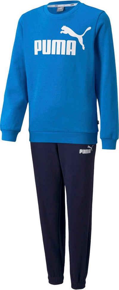 PUMA Jogginganzug »ESS Logo Sweat Suit Fleece Boys«
