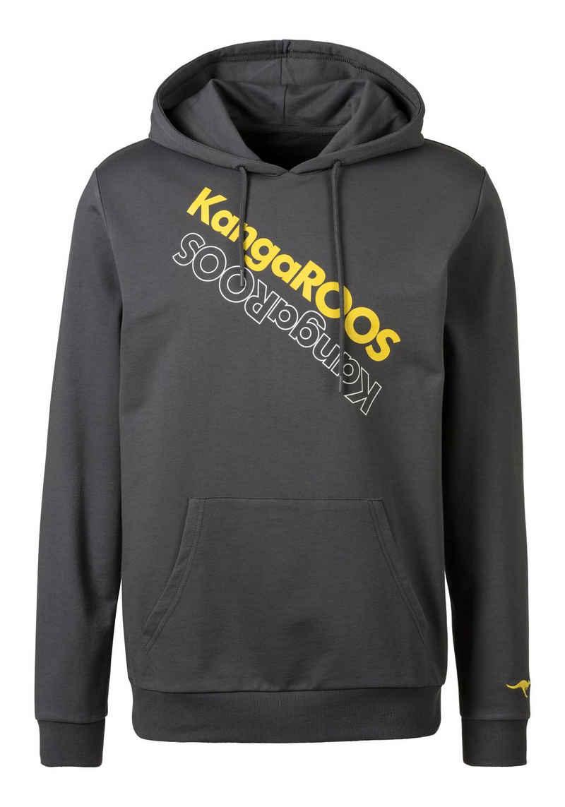 KangaROOS Kapuzensweatshirt mit Logo Print vorn