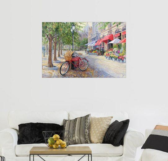 Posterlounge Wandbild, Fahrrad in Brügge