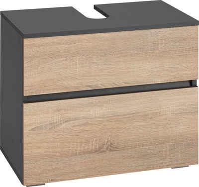 Home affaire Waschbeckenunterschrank »Wisla« Breite 60 cm, oben Klappe & unten großer Auszug