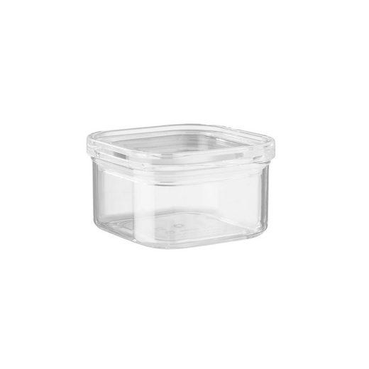 BUTLERS Vorratsglas »CLEARANCE Vorratsdose quadratisch 450ml«, AS, Acryl, Silikon