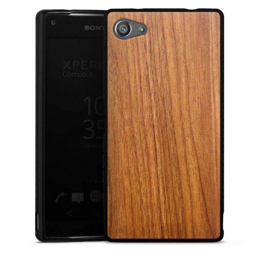 DeinDesign Handyhülle »Lärche« Sony Xperia Z5 Compact, Hülle Holzoptik Lärche Holz