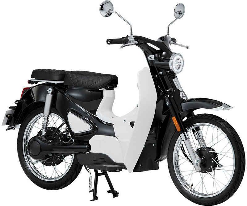 Santa Tina E-Motorroller »Retro-Mofa Turin«, 45 km/h
