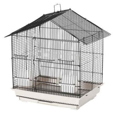 PawHut Vogelkäfig »Vogelkäfig mit 2 Futternäpfe«