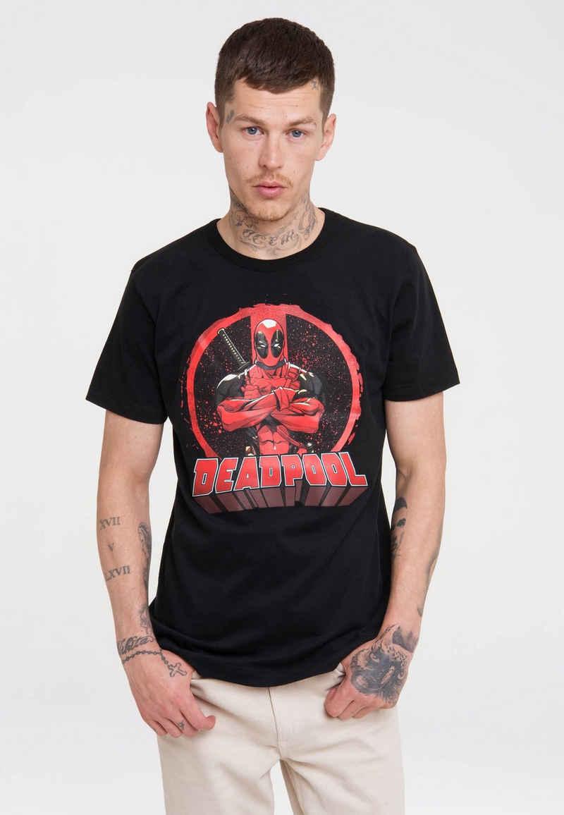 LOGOSHIRT T-Shirt »Marvel Comics - Deadpool« mit lizenziertem Print