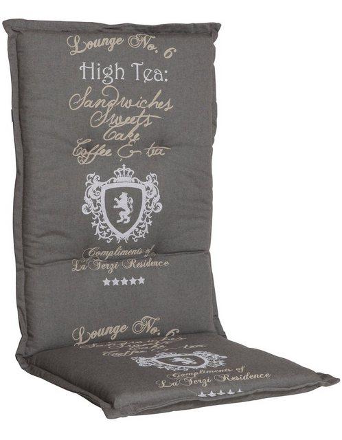 Go-De Hochlehnerauflage High Tea grau