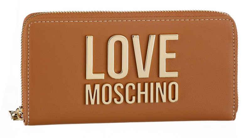 LOVE MOSCHINO Geldbörse, mit großem Love Moschino Metall-Logo