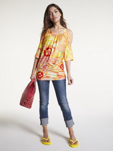 LINEA TESINI by Heine Bauchweg-Jeans Aleria mit Push-up Effekt