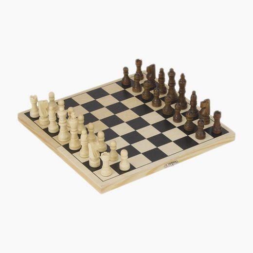 goki Spiel, Reise Schachspiel »Schach Kassette«, Anfänger Schach für Kinder