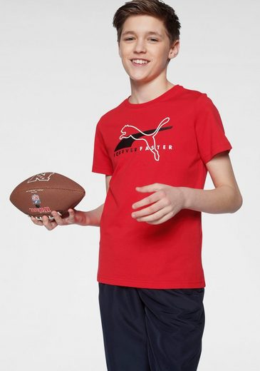 PUMA T-Shirt »ALPHA GRAPHIC TEE BOYS«