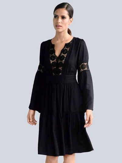 Alba Moda Strandkleid mit Spitze