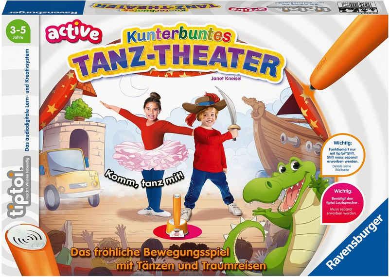 Ravensburger Spiel, »tiptoi® ACTIVE Kunterbuntes Tanz-Theater«, FSC® - schützt Wald - weltweit; Made in Europe