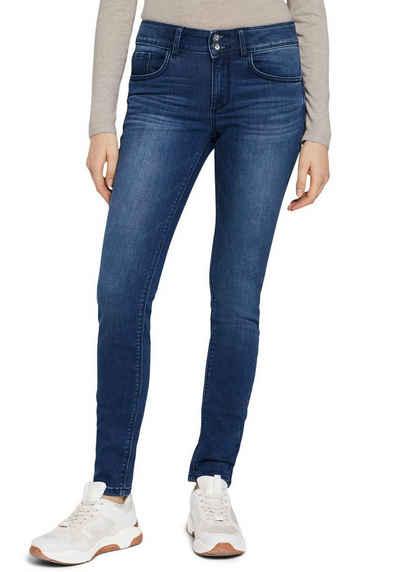 TOM TAILOR Skinny-fit-Jeans mit Doppelknopf-Verschluss