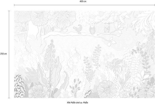 Komar Vlies-Fototapete Dreaming, 400 x 250 cm / 8-tlg.