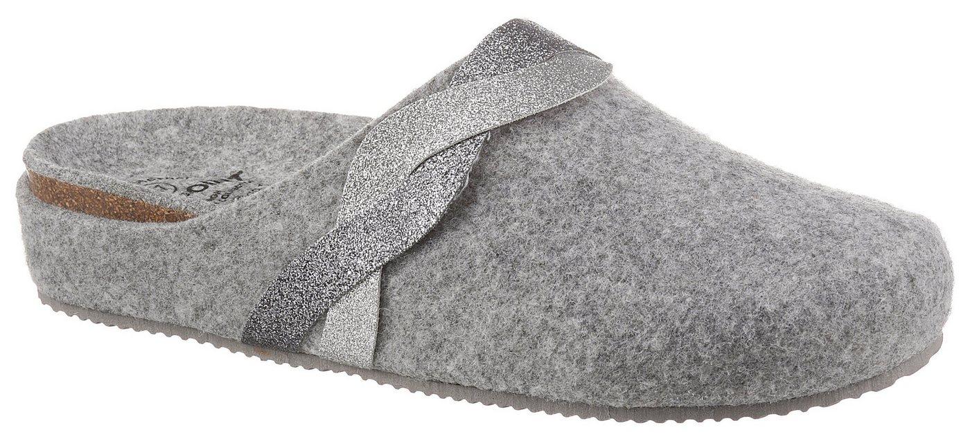 Hausschuhe - BIO POINT Pantoffel mit dämpfungsaktiver Laufsohle ›  - Onlineshop OTTO