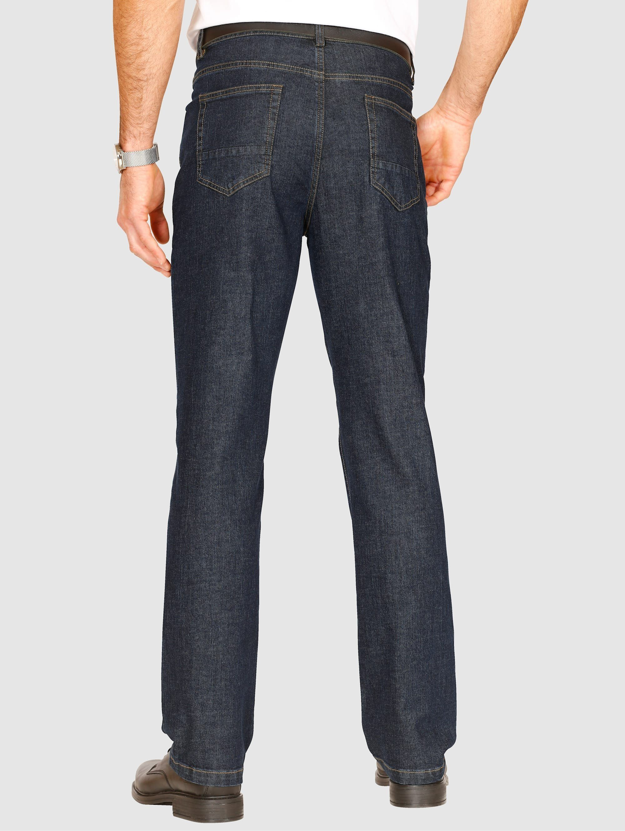 Roger Kent 5-Pocket Jeans in büglleichter Qualität